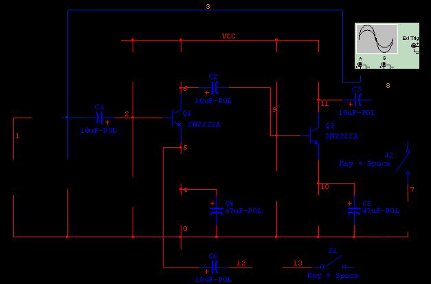 电子信息工程系 -模拟电子技术仿真
