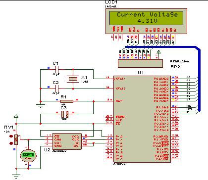 实验三 数字式电压表的设计